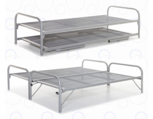 Double Divan long-tensioned mesh base